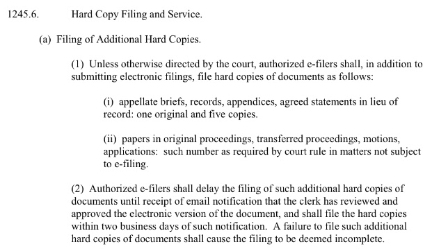 Appellate Division E-Filing Begins March 1, 2018 with Brand