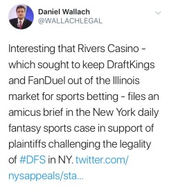 Dan Wallach Tweet on Rivers