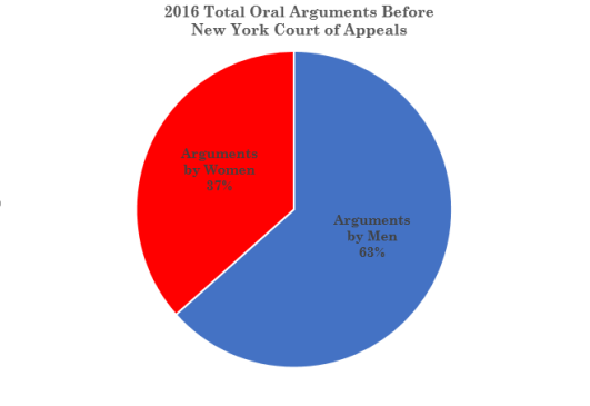 2016 Women Argument Pie Chart