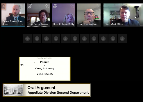 Second Department Skype Argument